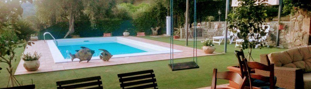 Costruzione villa con piscina in provincia di Savona