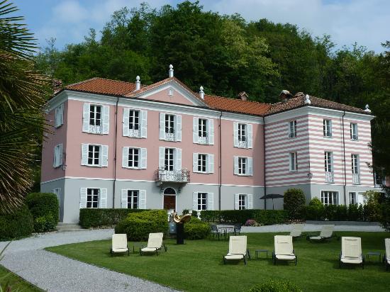 Villa Gardini dopo gli interventi di restauro