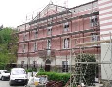 Restauro ville ottocentesche - Villa Gardini, lavori di restauro